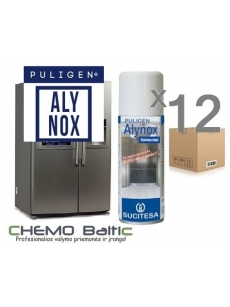 Stainless steel and aluminum cleaner PULIGEN ALYNOX 400mlx12units