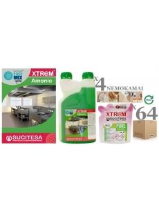 Detergent with ammonia XTREM PURE AMONIC x64MINI