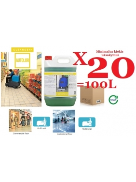 Floor scrubber detergent AQUAGEN MG 5Lx4units