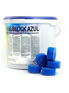Biologinė tabletė pisuarams VIJUBLOCK AZUL