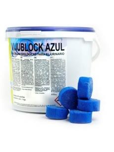 Biologinė tabletė pisuarams VIJUBLOCK AZUL 60tablečių x50g