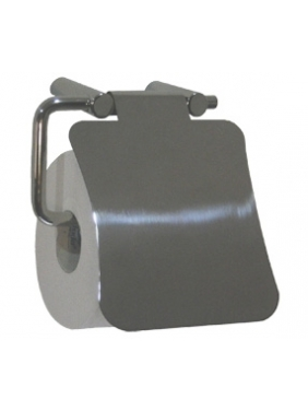 WC popieriaus (buitinio) laikiklis  su dangteliu (blizgus)