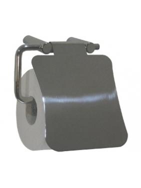 WC popieriaus laikiklis MEDINOX su dangteliu (blizgus)