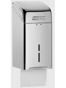 WC paper tissue dispenser STANDART 400 (satin)