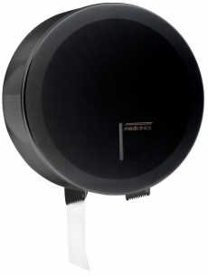Ruloninio WC popieriaus laikiklis Ø275mm (juodas)