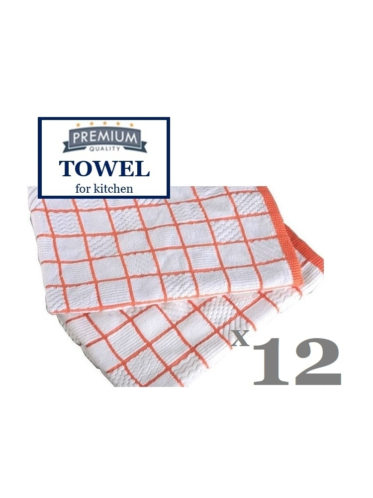 Microfiber and cotton KITCHEN TOWEL towel, 52x52cm