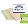Neaustinė mikropluošto šluostė MICROPUNT 40x45cm