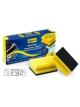 Kempinėlė su nagų apsauga GRIP DISH SPONGE 9.5x7x4.5cm (3vnt.)