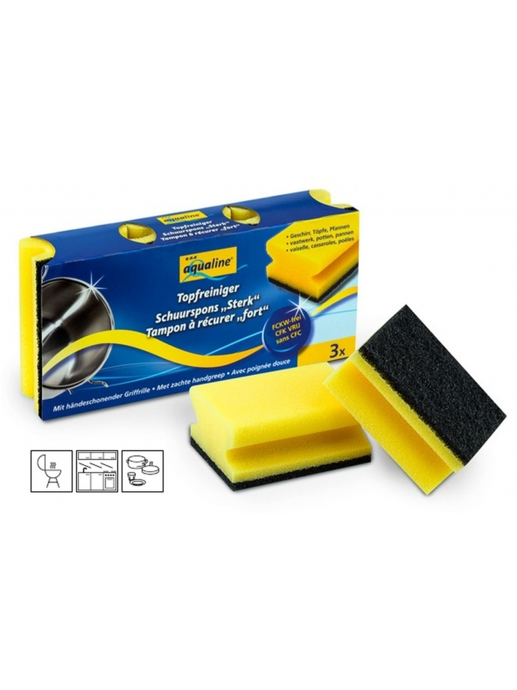 with nails protector CGRIP DISH SPONGE (3units)