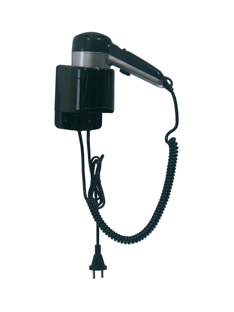 Plaukų džiovintuvas viešbučiams SC0020CS (juodas)