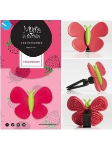 Auto fragrance MARTA LA FARFALLA STRAWBERRY