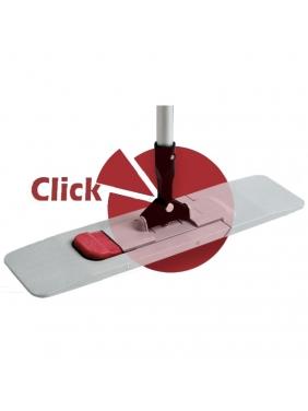 Grindų šluostės laikiklis ECO CLICK su kotu