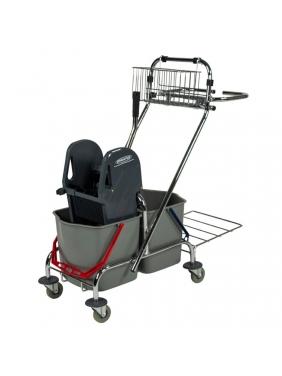 Universalus valytojos vežimėlis MULTi TROLEY 2x17L