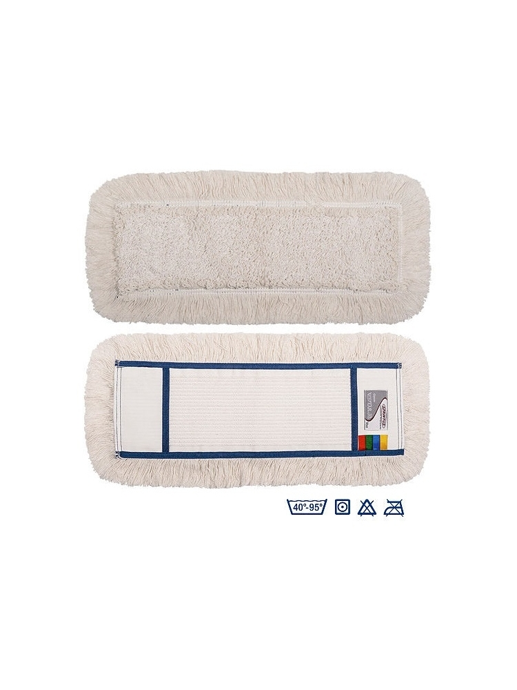 Karpytos/kilpinės medvilnės grindų šluostė CLASSIC MOP
