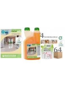Ekologiškas grindų ploviklis NATURSAFE PLUS CLEANER x 64vnt.