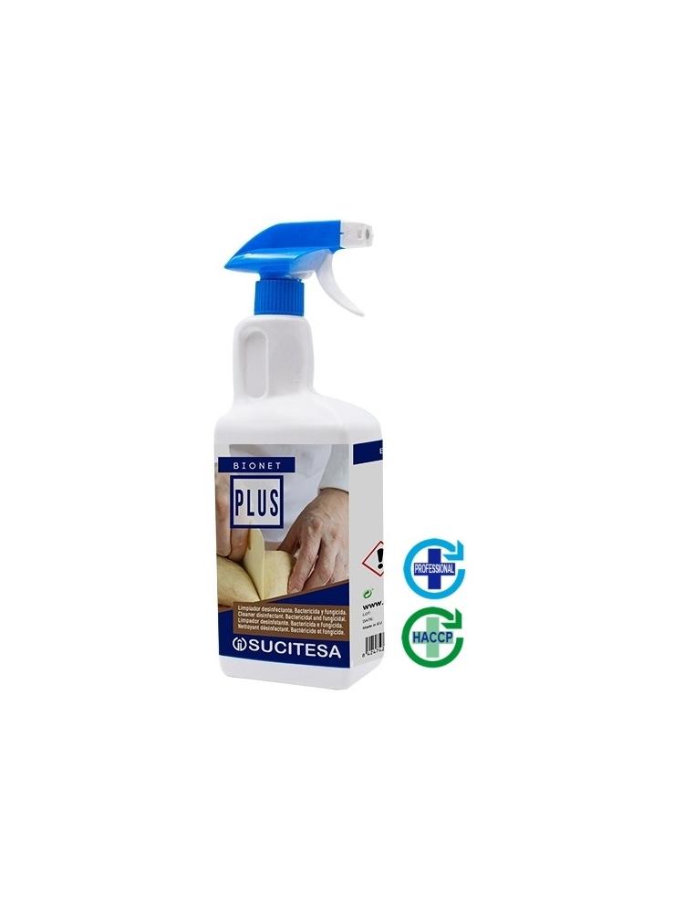 Universali paviršių dezinfekcija BIONET PLUS, 1L (alkoholinė)
