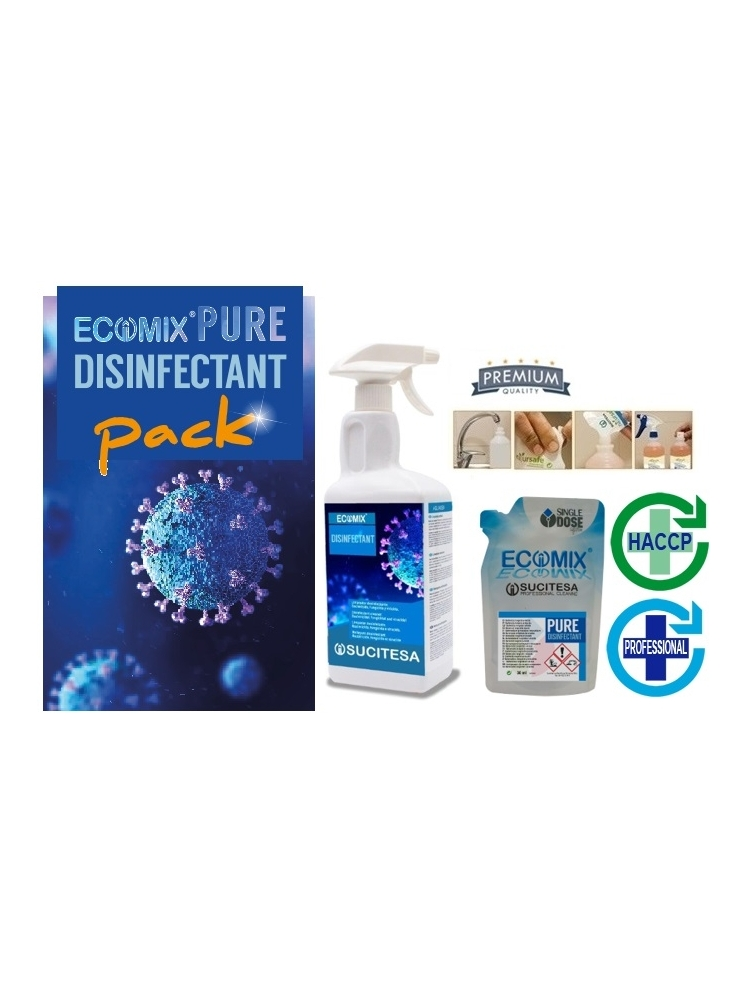 Universali dezinfekcija ECOMIX DESINFECTANT