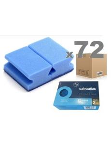 Kempinėlės jautriems paviršiams SOFT BLUE 9x7x4,5cm (72vnt.)