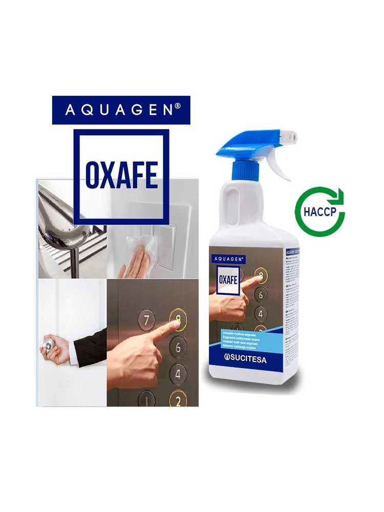 Universalus deguonies prisotintas valiklis AQUAGEN OXAFE