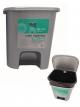 Atliekų dėžė HYGIENIC GREY 7,5 L