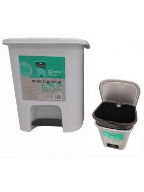 Atliekų dėžė su pedalu HYGIENIC WHITE 7,5 L