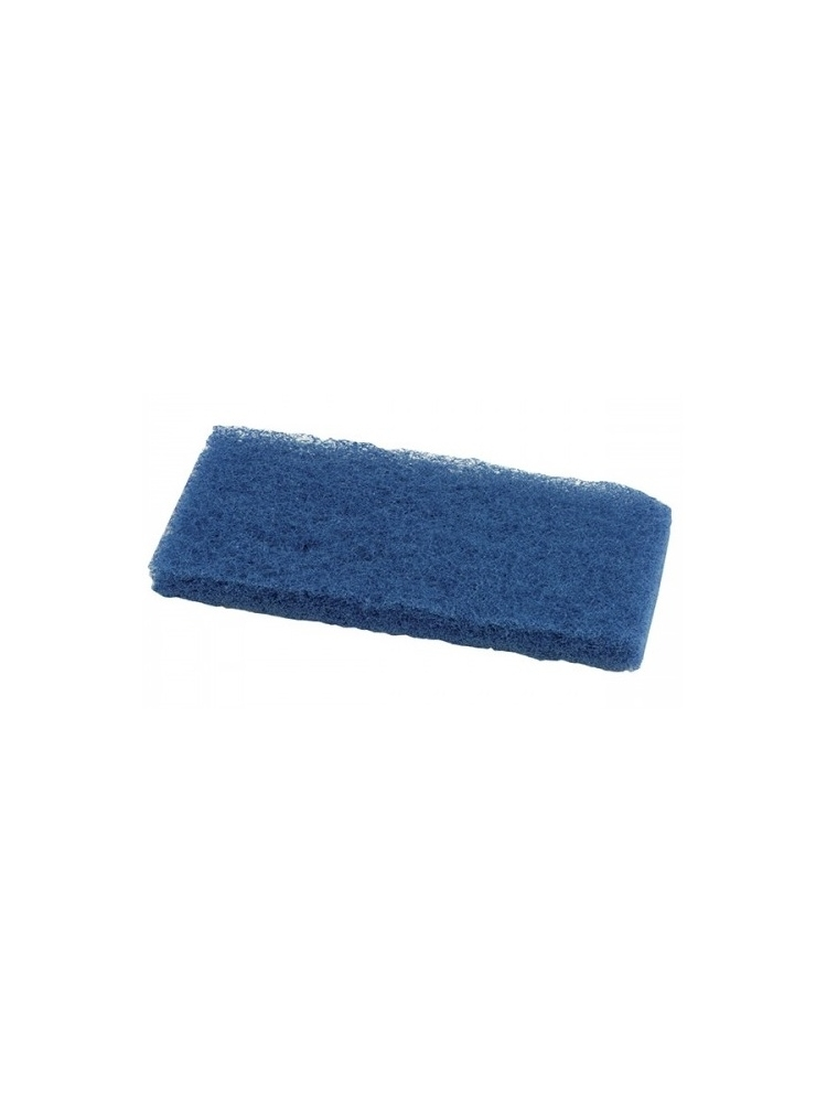 Fibre pad for cleaning and polishing BLUE