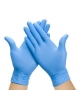 NITRIL disposable gloves 100Blue (size L)