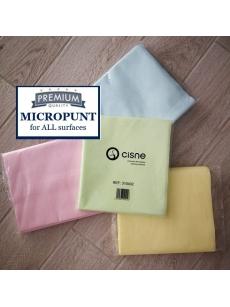 Neaustinė mikropluošto šluostė MICROPUNT (10vnt.)