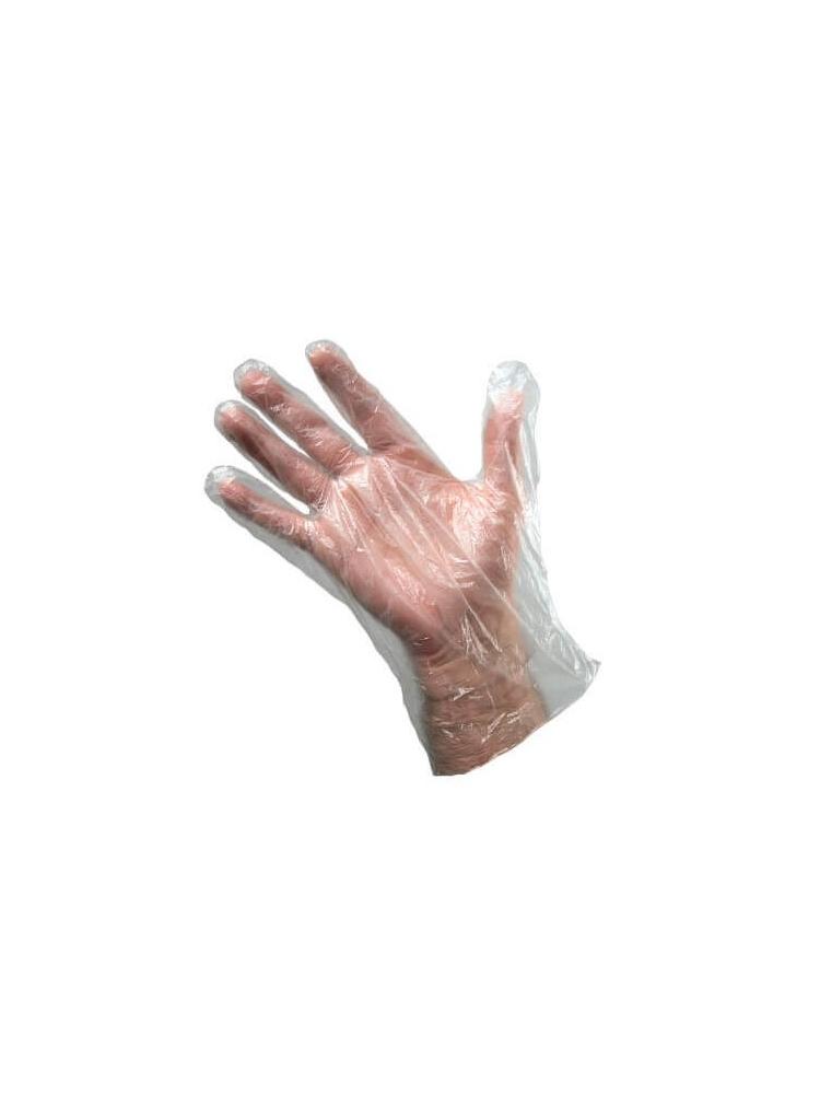 VINIL disposable gloves BLUE without powder (100units)