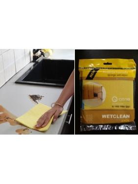 Wet cellulose cloths WETCLEAN, 18x18cm (3units)