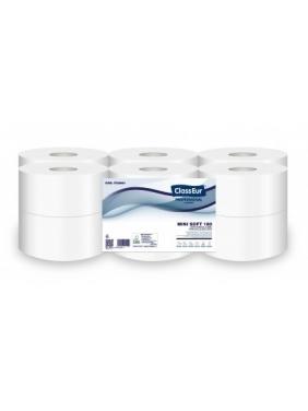 Toilet paper CLASSEUR MINI SOFT 180O (12roll)