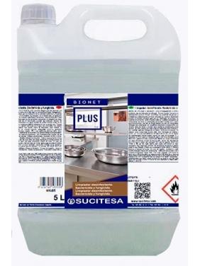 Universali paviršių dezinfekcija BIONET PLUS, 5L (alkoholinė)