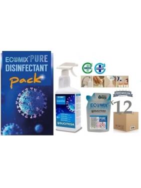 Universali dezinfekcija ECOMIX DESINFECTANT x12vnt.