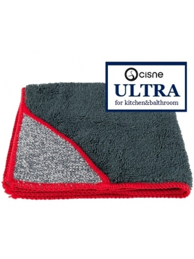 Mikropluošto šluostės virtuvei Cisne ULTRA, pilka