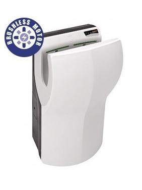 Hand Dryer Dualflow PLUS white (brushless motor)