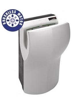 Hand Dryer Dualflow PLUS satin (brushless motor)