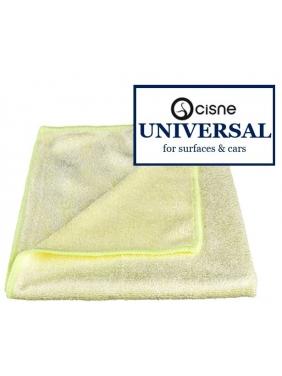 Microfiber cloth Cisne UNIVERSAL yellow, 38x40cm