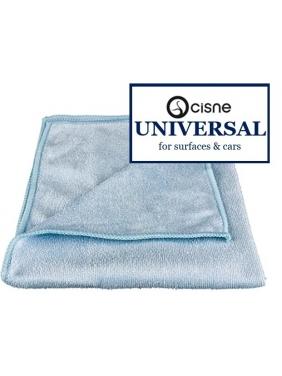 Microfiber cloth Cisne UNIVERSAL blue, 38x40cm