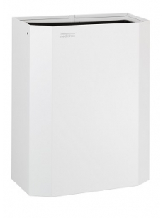 Open bin 25L without lid white