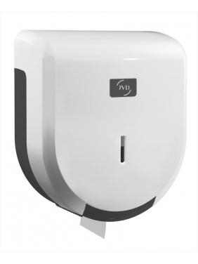 WC popieriaus rulonų laikiklis JVD JUMBO 200, baltas