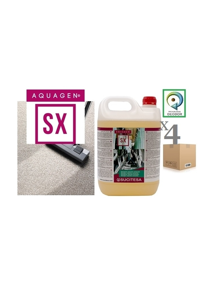 Injection-extraction detergent AQUAGEN SX 5Kgx4units