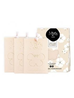 Marta card Cotton Flower 3units