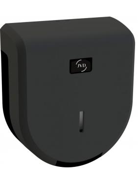 WC popieriaus rulonų laikiklis JVD JUMBO 200, juodas