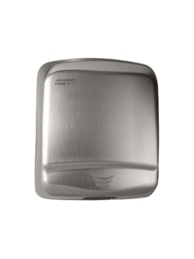 Hand Dryer Optima, satin steel