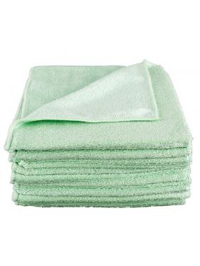 All purpose microfiber cloth CISNE UNIVERSAL GREEN (12units)