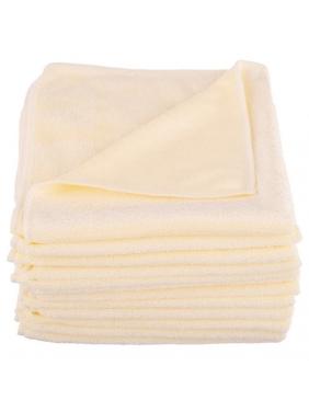 All purpose microfiber cloth CISNE UNIVERSAL yellow (12units)