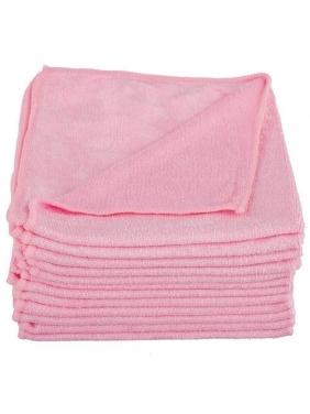 All purpose microfiber cloth CISNE UNIVERSAL pink (12units)