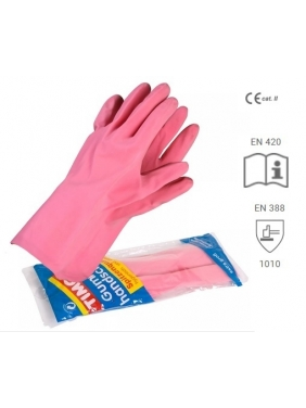 Rubber latex gloves, XL