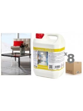 Detergent with bleach CLEANGEN CLORIL 2Kgx8units
