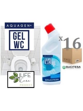 WC daily cleaner gel AQUAGEN GEL WC 750gx15units